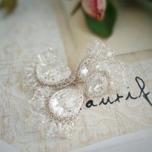 Kolczyki ślubne Brillae